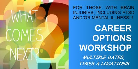 WORKSHOP: Income Options for Brain injured or Mentally ill tickets