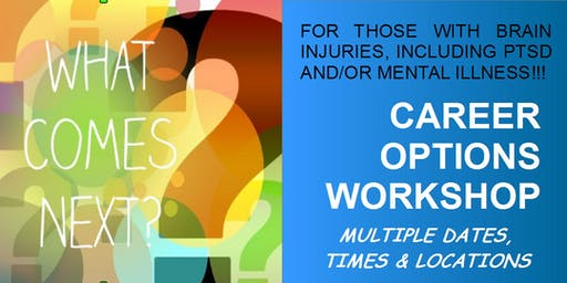 WORKSHOP: Income Options for Brain injured or Mentally ill