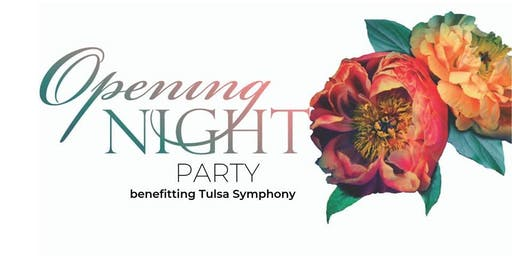 Tulsa Symphony's Opening Night Party