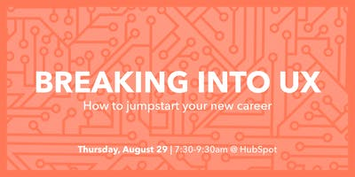 Breaking into UX - How to jumpstart your new career