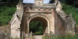 Canford Manor's 'splendid archway under the South-Western Railway'