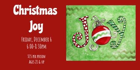 Christmas Joy Friday Night Art Classes tickets