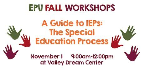 IEP Workshop tickets