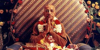 CeIebrating Vyasa Puja of ShriIa Prabhupada
