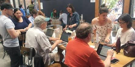 DemAction East Bay - South Berkeley Phone Bank for Virginia Election