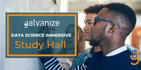Data Science Immersive Prep Study Hall tickets