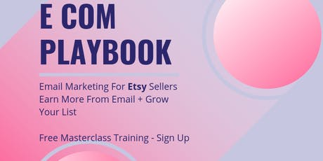 Email Marketing Class For Etsy Sellers tickets