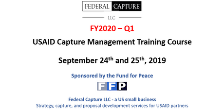 Federal Capture LLC: USAID Capture Management Course tickets