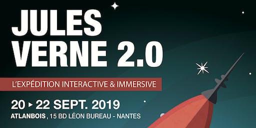 Vernissage « Jules Verne 2.0, l'expédition interactive et immersive ».