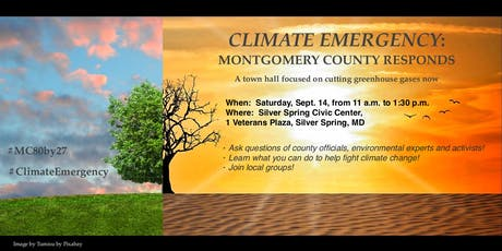 Climate Emergency: Montgomery County's Response tickets