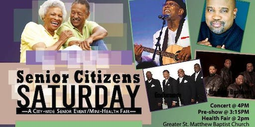 Senior Citizens Saturday 2019
