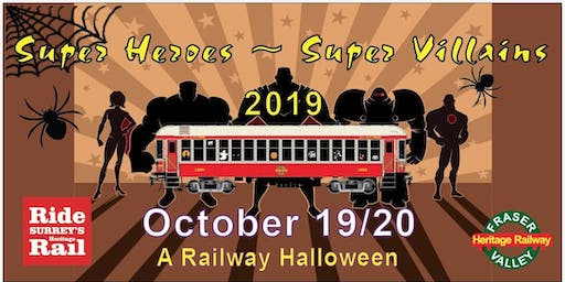 Super Heroes and Super Villains, A Railway Halloween