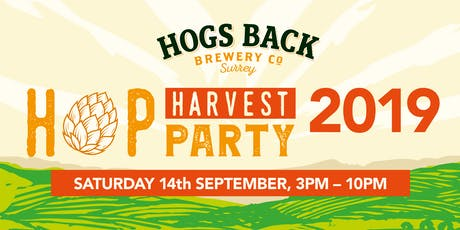 Hop Harvest Party 2019 tickets