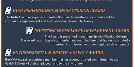 NMA Annual Manufacturing Awards tickets