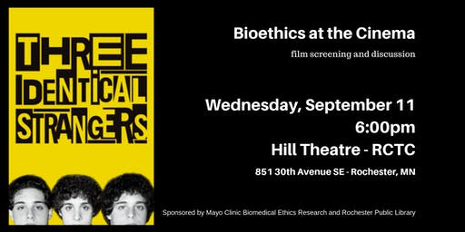 Three Identical Strangers - Bioethics at the Cinema