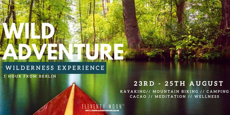 Into the Wild - Wild Adventure! // Wilderness Experience //Camping Retreat Tickets