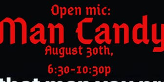 Poetry Open Mic: Man Candy