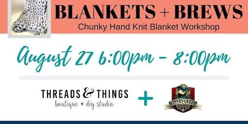 Blankets + Brews at Kinney Creek Brewery