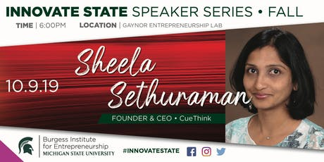 Innovate State, with Sheela Sethuraman tickets