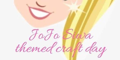 Jo Jo Siwa Themed Craft Day