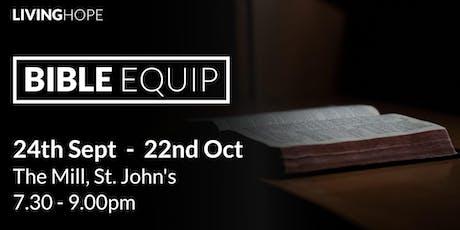 Bible Equip - James tickets