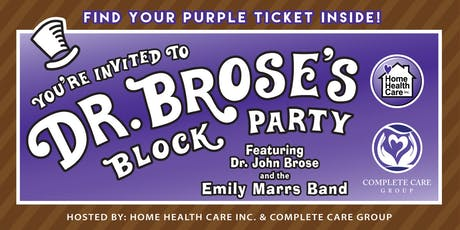 3rd Annual Dr. Brose's Block Party tickets