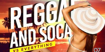 REGGAE AND SOCA VS EVERYTHING THURSDAYS AFTERWORK