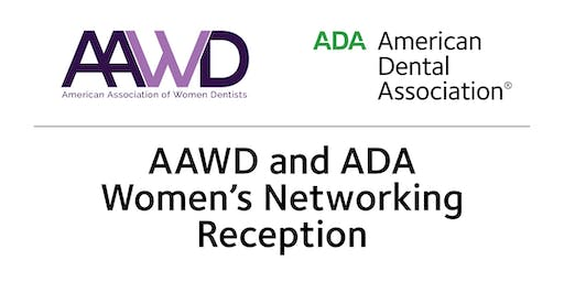 AAWD and ADA Women's Networking Reception