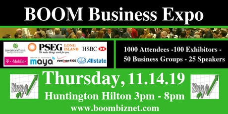 BOOM Business Expo - 11.14.19 tickets