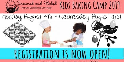 Creamed and Baked's Kids Baking Camp 2019
