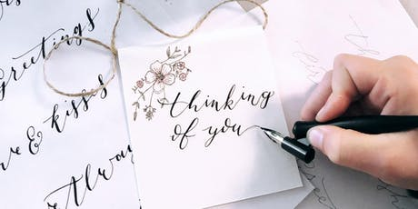 The Art of Modern Calligraphy Workshop  tickets