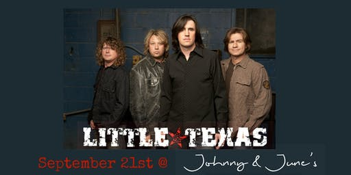 Little Texas 30th Anniversary Tour LIVE at Johnny & June's