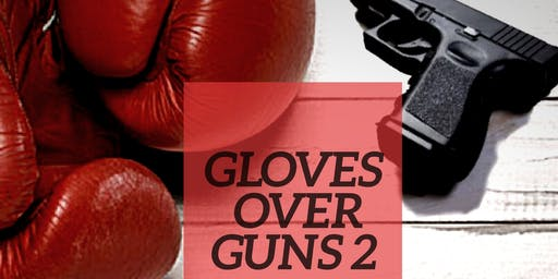 Vendor for Gloves over Guns Community Day Event
