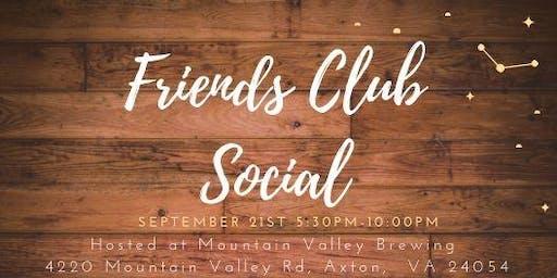 Friends Club Social