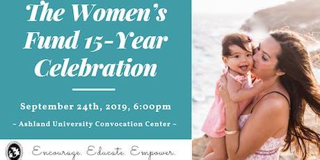 Women's Fund 15-Year Celebration tickets