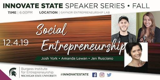 Innovate State: Social Entrepreneurship Edition