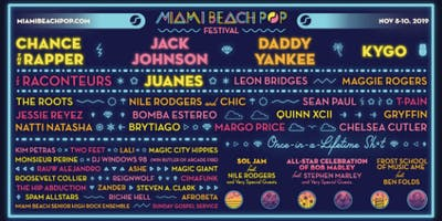 Miami Beach Pop - Final Wave 1 Payment Plan - November 8-10, 2019