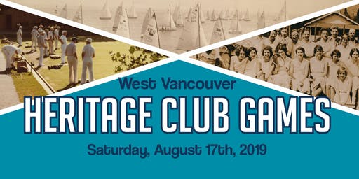 West Vancouver Heritage Club Games