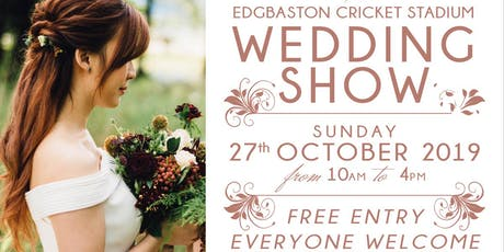 Edgbaston Cricket Stadium Wedding Show tickets