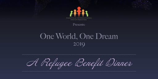 One World, One Dream 2019 - A Refugee Benefit Dinner