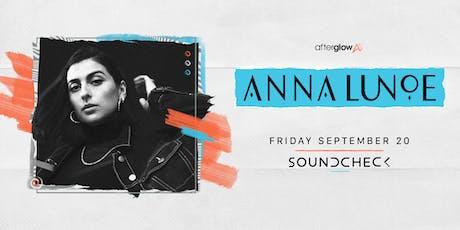 Anna Lunoe tickets