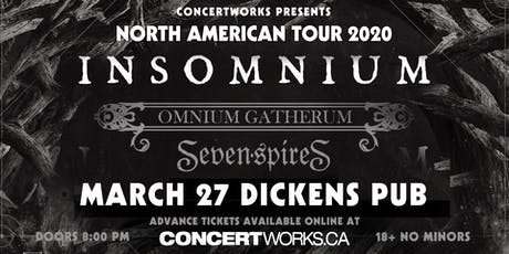 INSOMNIUM with OMNIUM GATHERUM & Guest tickets