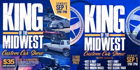 King Of The Midwest Car Show tickets