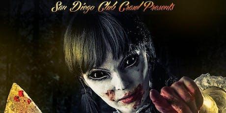 Special Halloween San Diego Club Crawl: Exclusive Gaslamp NightClubs tickets
