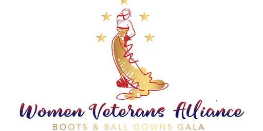 Women Veterans Alliance Boots and Ball Gowns Gala