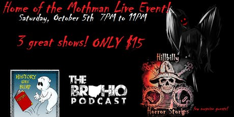 Home of the Mothman Live Event! tickets