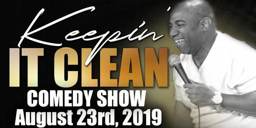 Christian comedian stephon presents Keepin It Clean comedy show