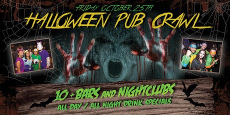 Hollywood Halloween Pub Crawl - Friday Oct 25th tickets