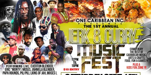 Jerk and Curry Music Fest