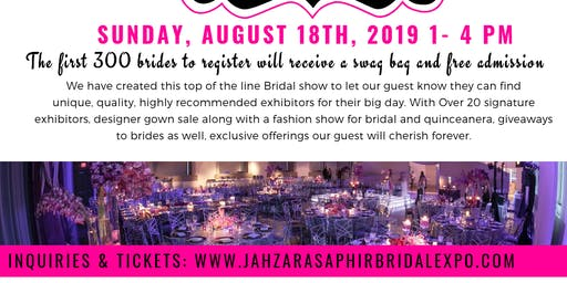 Jahzara Saphir Bridal Expo
